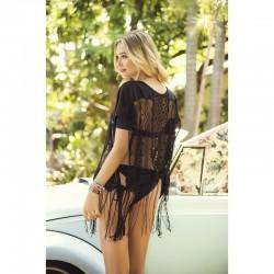 Robe de plage Style 7876 - Noir