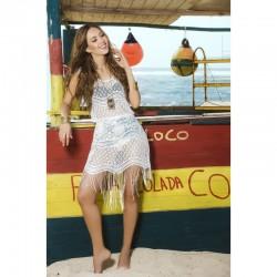 Robe de plage Style 7794 - Blanc