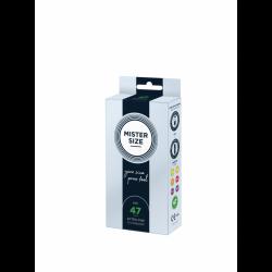 Boîte de 10 préservatifs Mister Size - 7 tailles disponibles