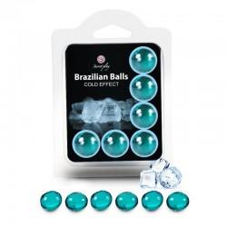6 Brazilian Balls Cold effect 3613-1